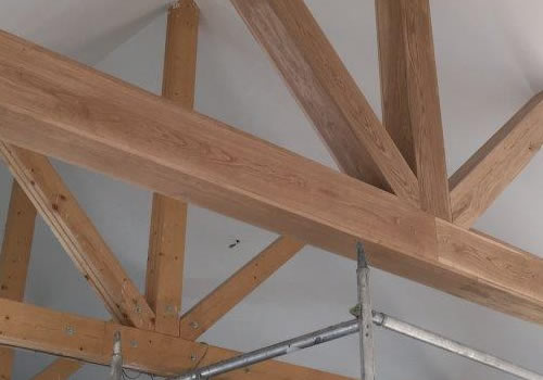 J & J McCann manufacture and supply timber framed kits for houses, renovations and extensions