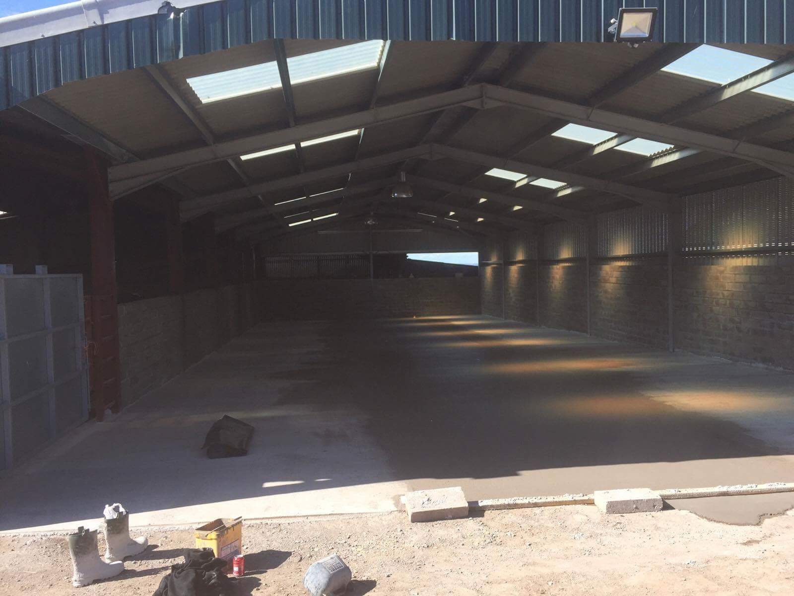 Commercial and Industrial Building Project - Farm Shed