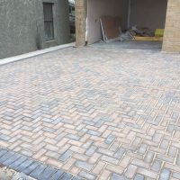 Monoblock driveway in South Lanarkshire