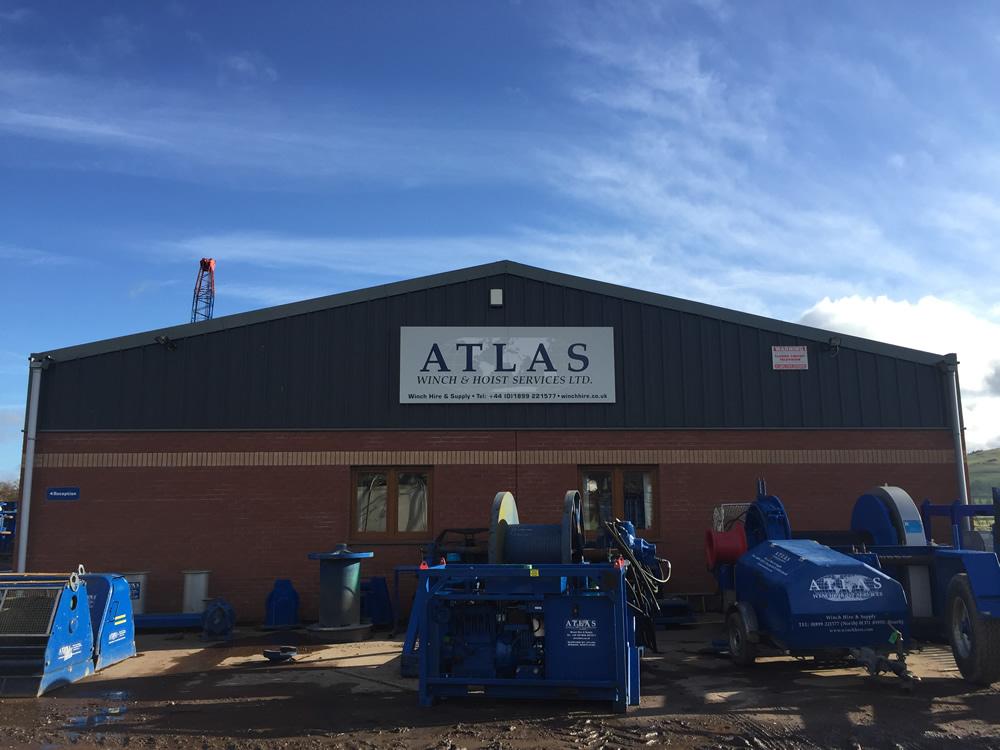 Atlas Hoist & Winch Commercial Project Biggar